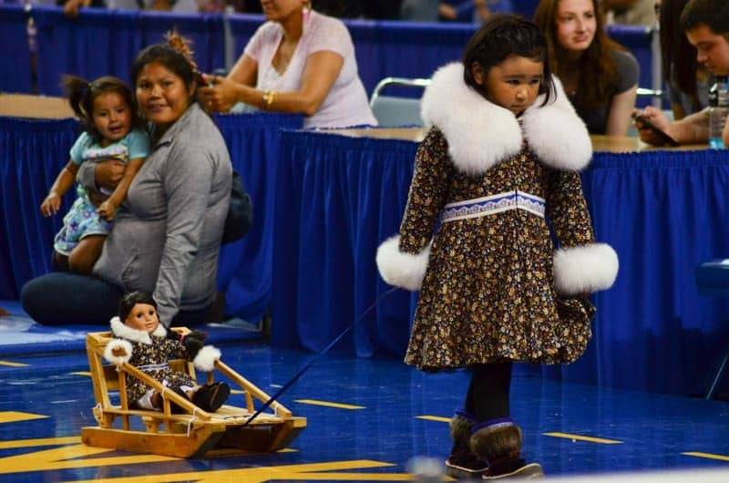 World Eskimo-Indian Olympics: Seal skinning and other crazy games!