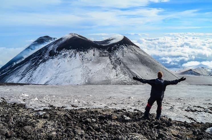 Sopka Etna: rady a tipy na výstup - vše co potřebujete vědět