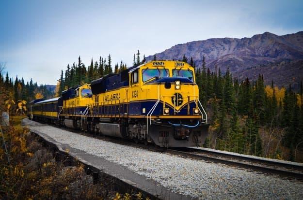 Alaska Railroad: Train Ride From Denali to Anchorage