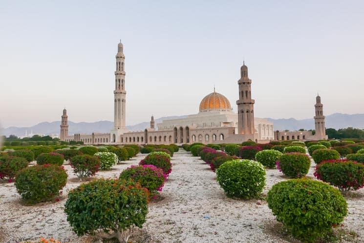 Omán - Sultan Qaboos Grand Mosque