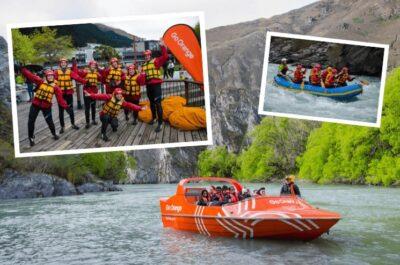 Jet to Raft Experience in Queenstown, New Zealand
